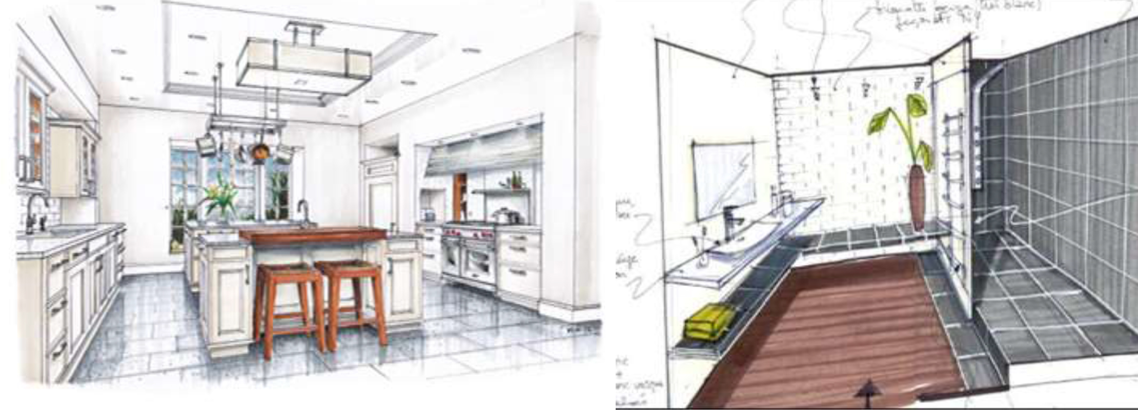 Aménagement Intérieur Salle Bain bois design - accueil